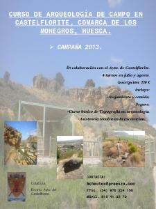Europe - Spain - Field School in Castelflorite, Huesca - 2013