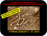 Mediterranean - Cyprus - Bioarchaeology And Forensic Anthropology Fieldschool - 2014