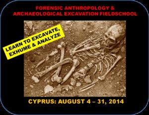 Mediterranean - Cyprus - Bioarchaeology And Forensic Anthropology Fieldschool - 2014