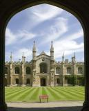 Europe - England - British Archaeology Summer School, Corpus Christi College, Cambridge.