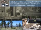 North America - California - Mono Mills Historical Archaeology Project - 2012